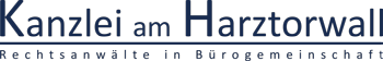Kanzlei am Harztorwall Logo